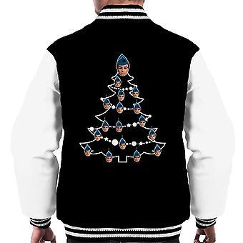Thunderbirds Christmas Tree Scott Tracy Men's Varsity Jacket