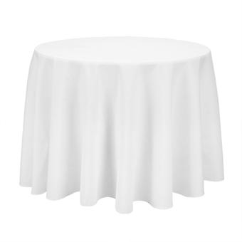 White Polyester Tablecloth Table Cover Cloth