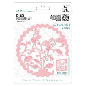 Xcut يموت (2pcs) -- الجنيات الأزهار (XCU 504092)