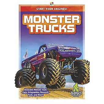 Start Your Engines Monster Trucks by London & Martha