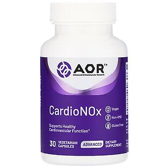 Advanced Orthomolecular Research AOR, Cardio Nox, 30 Capsules végétariennes