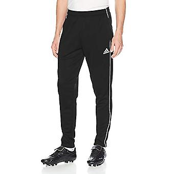 adidas Men's Core 18 Training Pant, Black/White, X-Small