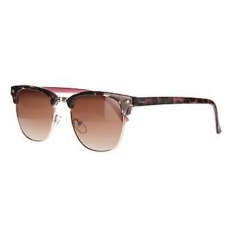 Sunglasses Unisex Cat.3 Red Smoke/Red (AMU19207 H)
