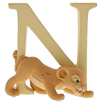 Disney Alphabet Letter N Nala Figurine
