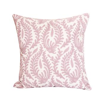YANGFAN Soft Cotton Hand Embroidered Pillow