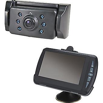 draadloze achteruitrijcamera met 4,3 inch monitor
