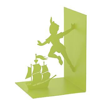 Bookend Flying Boy 17 cm Metall grün