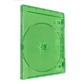Zedlabz compatible replacement retail game case for microsoft xbox one - 2 pack green