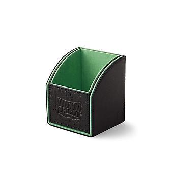 Dragon Shield Nest 100-Black/Green Staple