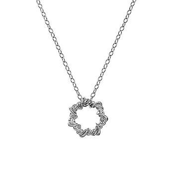 Hot Diamonds Sterling Silver Vine Necklace DP752