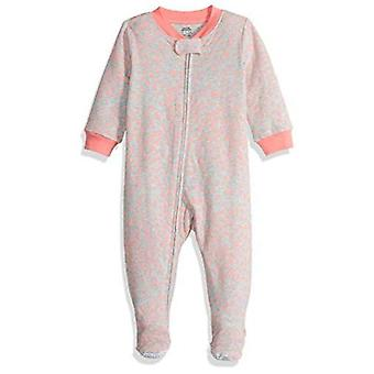 Essencials Bebê Zip-Front Footed Sleep and Play