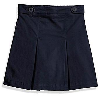 Essentials Girl's Uniform Skort, Navy Blue, L(S)