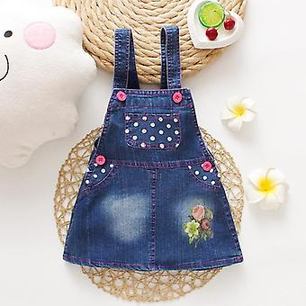 Summer Baby Jeans Jupes Kids Denim Toddler Infant Jumper 1-3y