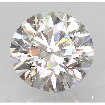 Zertifiziert 0.56 Karat D VVS1 Round Brilliant Enhanced Natural Loose Diamond 5.24m