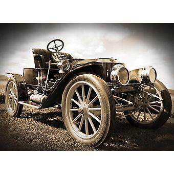 Tapete Wandbild Vintage Retro Auto