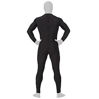 AltSkin Adult/Kids Full Body Stretch Fabric Zentai Suit - Zippered Back One Piece Stretch Suit Costume for Halloween - Tuxedo