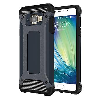 For Galaxy A5 (2016) / A510 Tough Armor TPU + PC Combination Case(Dark Blue)