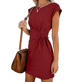 التعادل في الخصر فستان الحوامل، لينة ومريحة القطن بقعة اللباس & apos;s