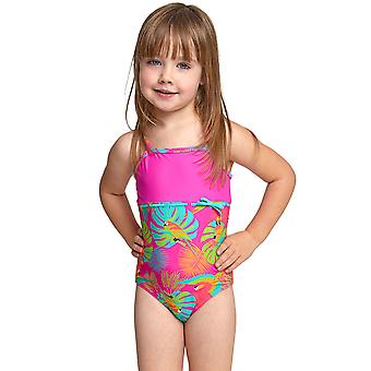 Zoggs Tots Girls Parakeet Classicback Swimsuit