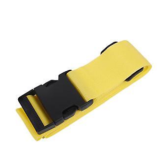 Pasek bagażowy do walizki Żółty
