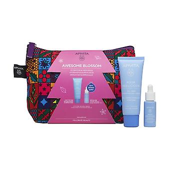 Aqua Beelicious Comfort moisturizing cream with a rich texture + hydrating and refreshing mini Booster gift Pack 40 + 30 ml