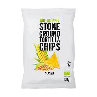 Organic - Natural Tortillas chips with salt None