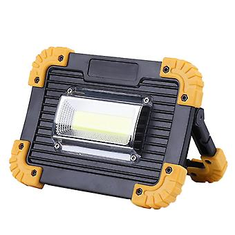 Super Bright LED pracovní světlo dobíjecí, přenosné reflektor pro venkovní