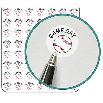 Baseball Game Reminder Planner Stickers