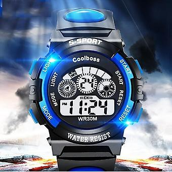 Waterproof Watch, Garçons, Filles, Led Digital Sports Watches, Silicone