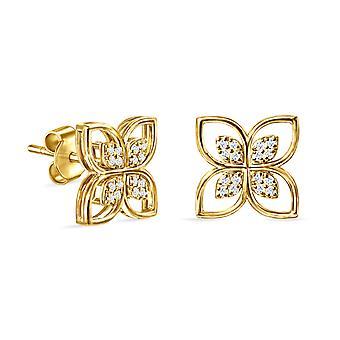 Korvakorut Felicity Pure 18K kulta ja timantit