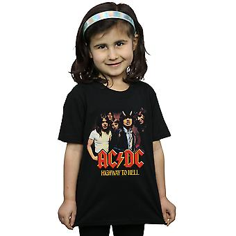 ACDC Mädchen Highway To Hell Group T-Shirt