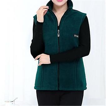 New Fleece Korean Plus Size  Sleeveless Jackets Casual Waistcoat
