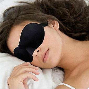 Travel 3d Eye Mask, Night Relax Sleep Soft Wyściełane Osłona cienia, Spanie