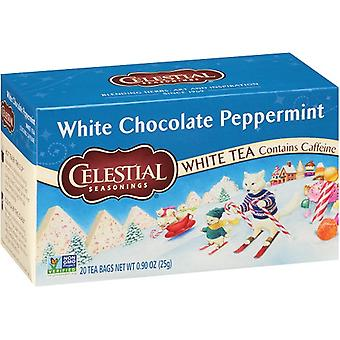 Celestial Seasonings White Chocolate Peppermint White Tea
