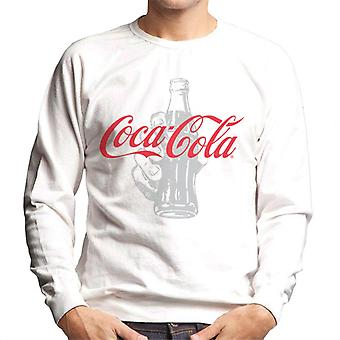 Coca Cola Bottle Its The Real Thing Men's Sweatshirt