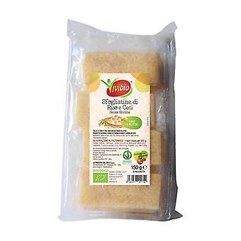 الأرز الخالي من الغلوتين والمعجنات نفخة الحمص 150 غرام