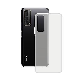 Caso Huawei Psmart 2021 Contact Flex TPU Transparente