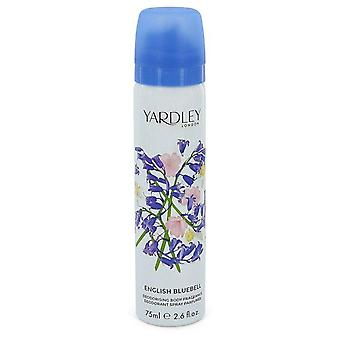 Spray corps Bluebell anglaise de Yardley London 2,6 oz Body Spray