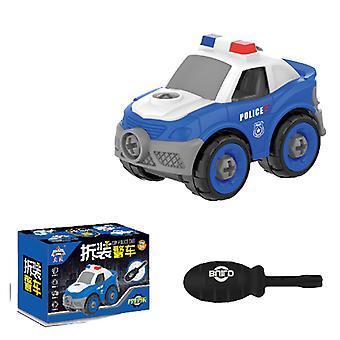 Children's detachable patrol car toy