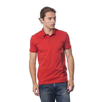 Roberto Cavalli Sport Kuuma Punainen T-paita