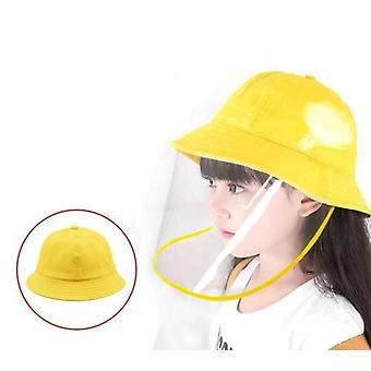 Children's Bucket Hat With Detachable Front Panel