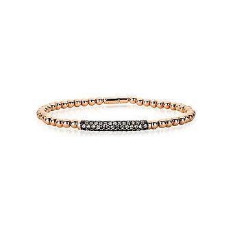 Diamantarmband  Armband - 18K 750/- Rotgold - 1.39 ct.