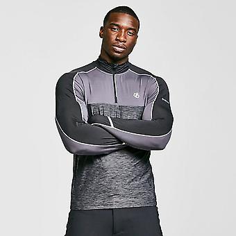 New DARE 2B Men's Power Up Half Zip Jersey Grey