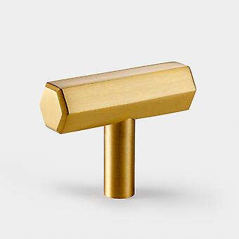 Brass T Bar - Gold