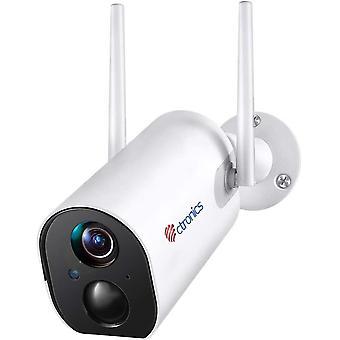 Wokex Akku berwachungskamera Aussen 10000mAh Batterie WLAN IP Kamera PIR Menschenerkennung mit 50m