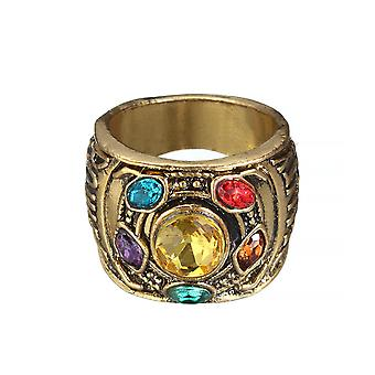 Thanos Anime Ring Zinc Alloy Man Ring For Party Golden