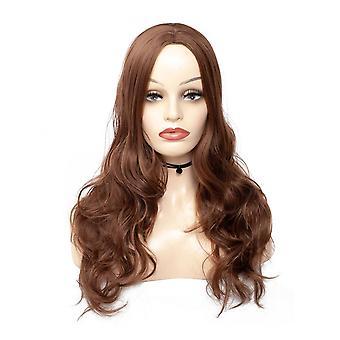 誕生日パーティーのためのファッショナブルな天然ウィッグファッション合成ウィッグ偽の髪