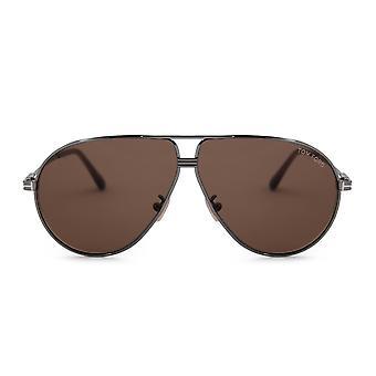 Tom Ford Jet Aviator Sunglasses FT 0734 H 12E 64