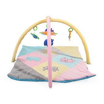 Moni Play Bow kleine gymnastiek PQ285 crawler deken rechthoekig, met speelgoed