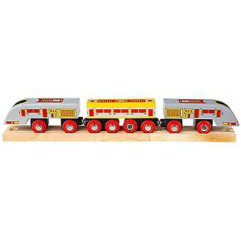 Bigjigs träjärnväg Eurostar Bullet Train